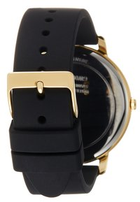 Guess - LADIES DRESS - Montre - black/gold-coloured - 2