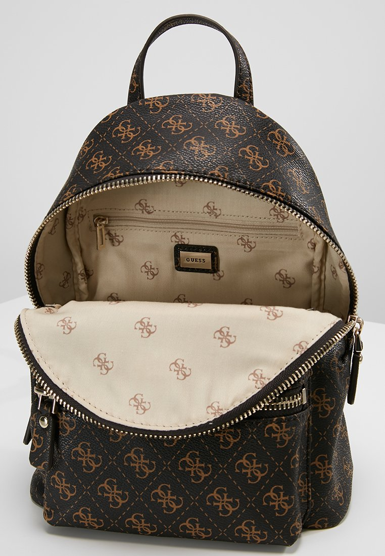 Leeza À Dos Small BackpackSac Guess Brown hxstQCrd