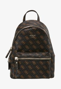 Guess - LEEZA SMALL BACKPACK - Ryggsäck - brown - 6