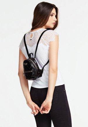 PEONY SHINE LAKEFFECT - Plecak - black