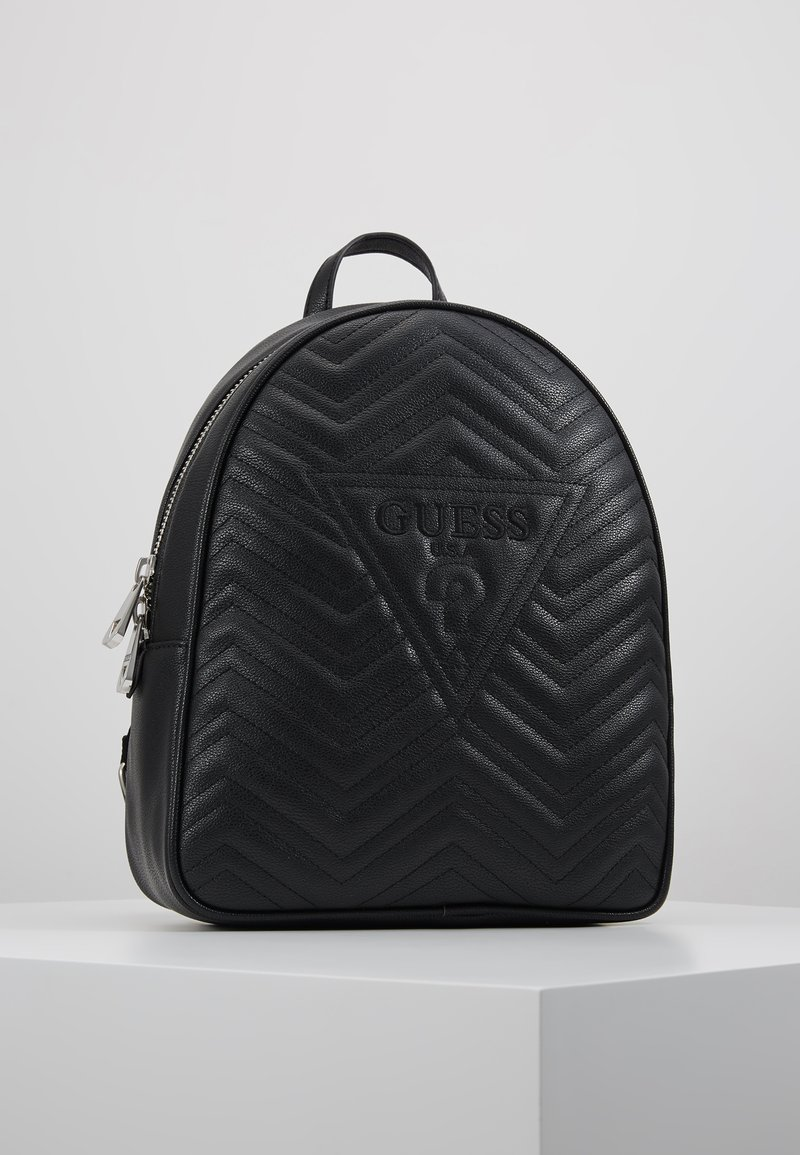 Guess - ZANA LARGE BACKPACK - Rucksack - black
