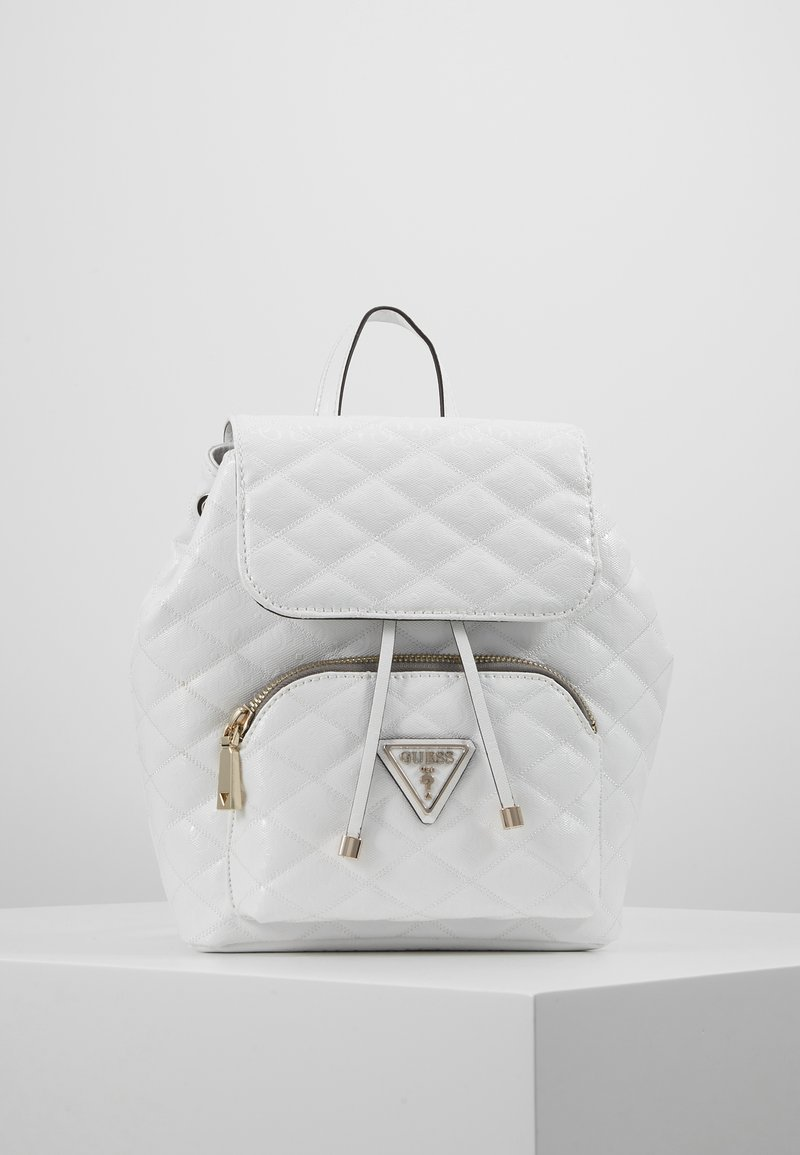 Guess - ASTRID BACKPACK - Batoh - white