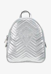 Guess - ZANA BACKPACK - Reppu - silver - 5