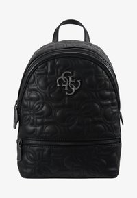 Guess - NEW WAVE BACKPACK - Reppu - black - 5