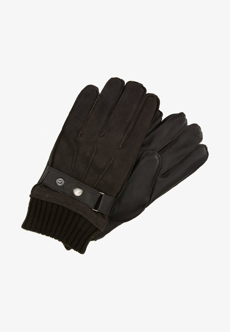 Guess - NOT COORDINATED GLOVES - Rukavice - brown