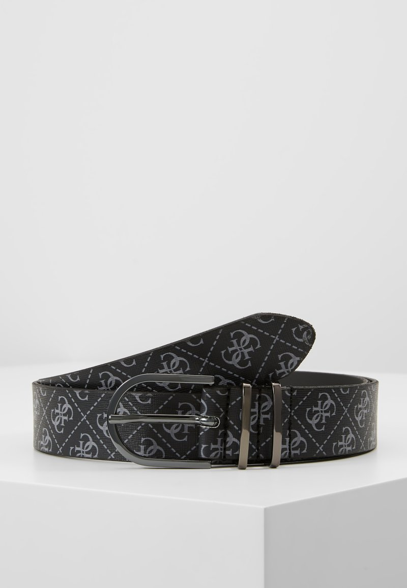 Guess - MANHATTAN NOT ADJUST BELT - Belt - black