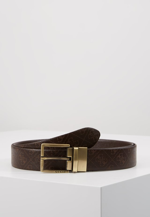 GIFT BOX W/2 BUCKLES - Ceinture - brown