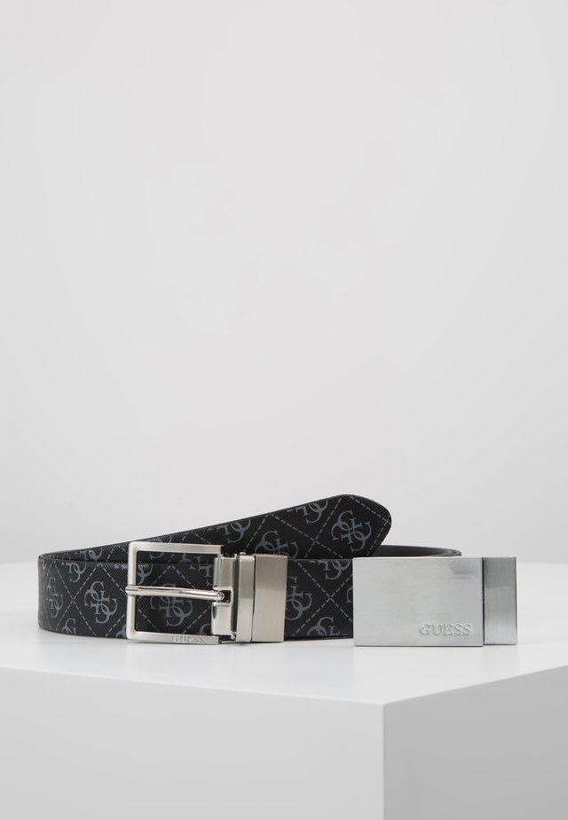GIFT BOX W/2 BUCKLES - Pásek - black