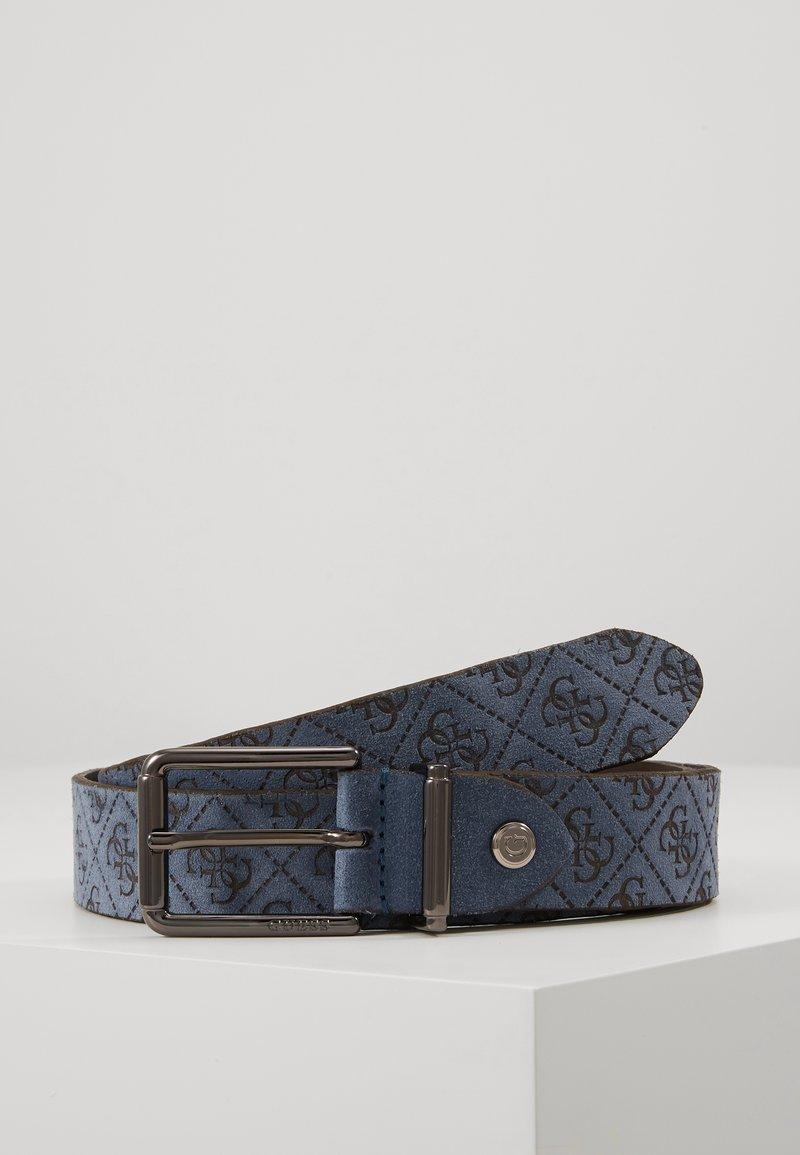 Guess - MANHATTAN ADJUSTABLE BELT - Pásek - blue