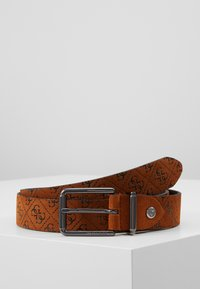 Guess - MANHATTAN ADJUSTABLE BELT - Pásek - cognac - 0