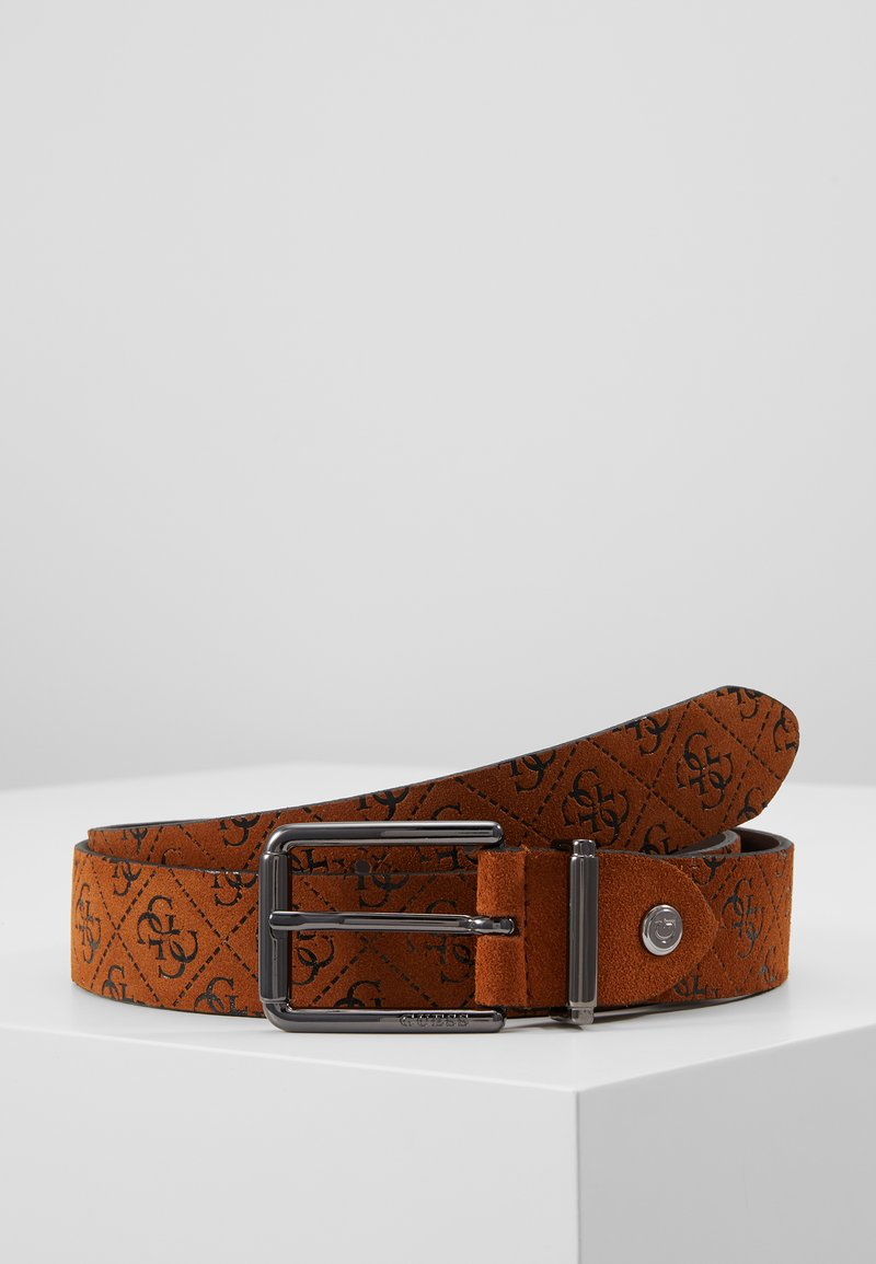 Guess - MANHATTAN ADJUSTABLE BELT - Pásek - cognac