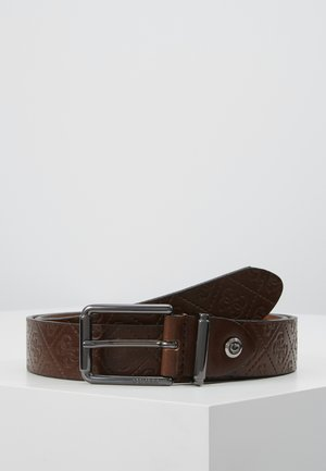 MANHATTAN JUSTABLE BELT - Pásek - dark brown