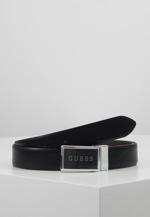 REVERSIBLE ADJUSTABLE BELT - Cintura - black/brown