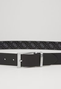 Guess - ADJUSTABLE BELT - Cinturón - black - 4