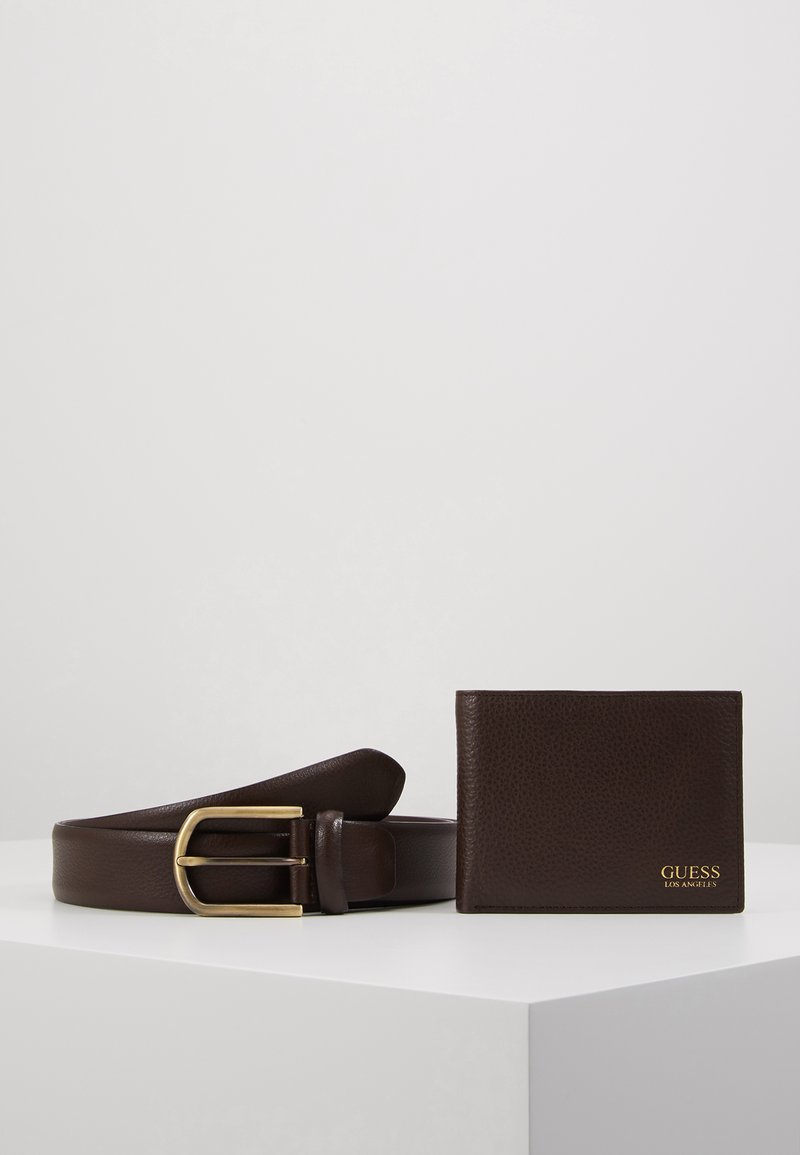 Guess - GERARD GIFT BOX BELT - Vyö - brown