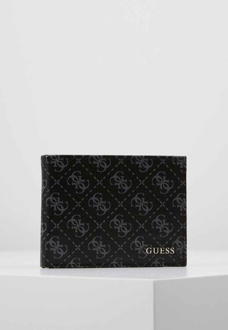 Guess - CITY LOGO BILLFOLD - Plånbok - black