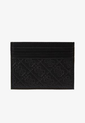 DAN LOGO CARD CASE - Portemonnee - black