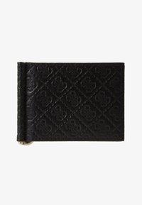 Guess - DAN LOGO MONEY CLIP CARD CASE - Peněženka - black - 1
