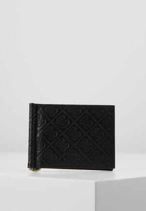 DAN LOGO MONEY CLIP CARD CASE - Geldbörse - black