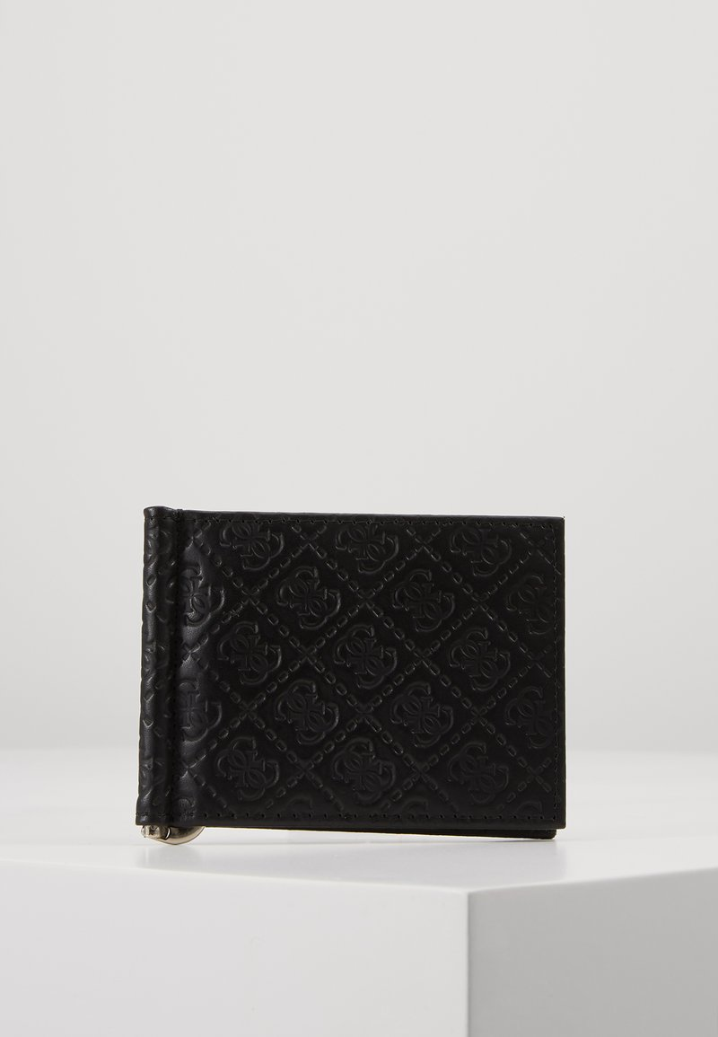 Guess - DAN LOGO MONEY CLIP CARD CASE - Peněženka - black