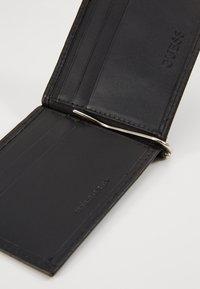 Guess - DAN LOGO MONEY CLIP CARD CASE - Peněženka - black - 2