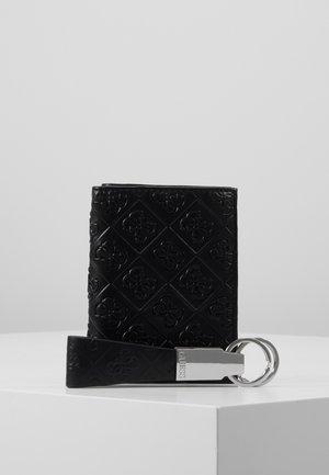 DAN EMBOSSED GIFT BOX - Schlüsselanhänger - black