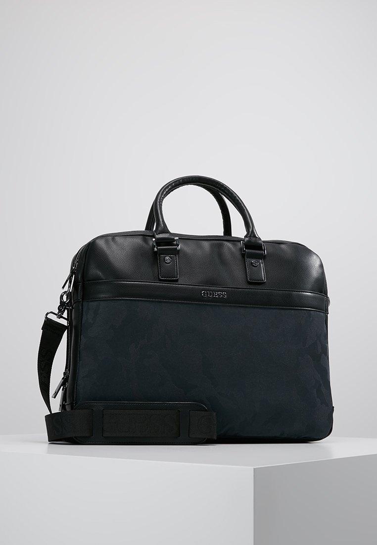 Guess - CITY WORKBAG DOUBLE COMPARTMEN - Briefcase - black