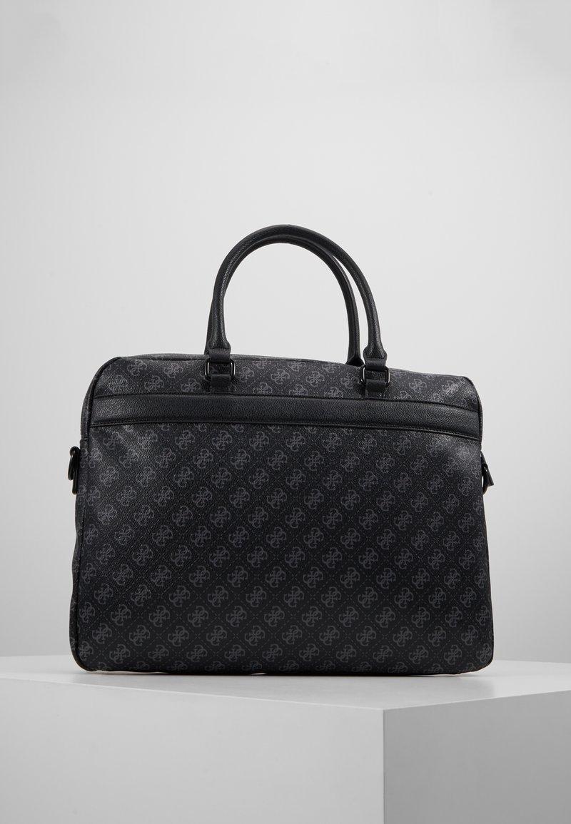 BriefcaseMallette Black Slim Guess Sport 6f7bgy