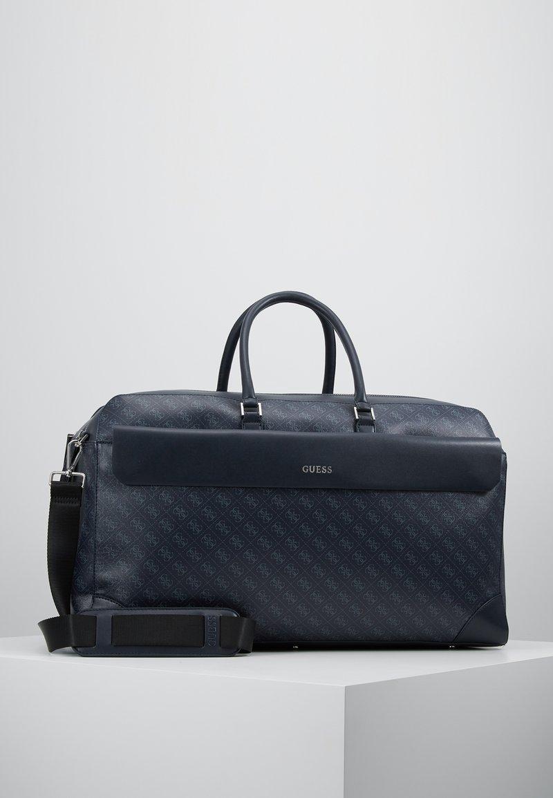 Guess - MANHATTAN LOGO - Weekend bag - navy