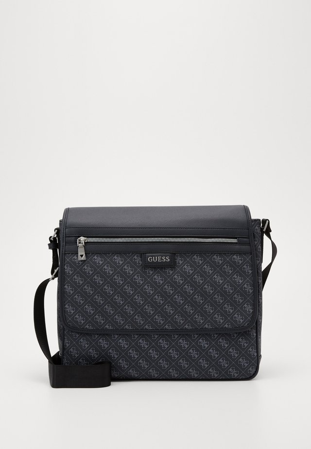DAN LOGO MESSENGER - Schoudertas - black