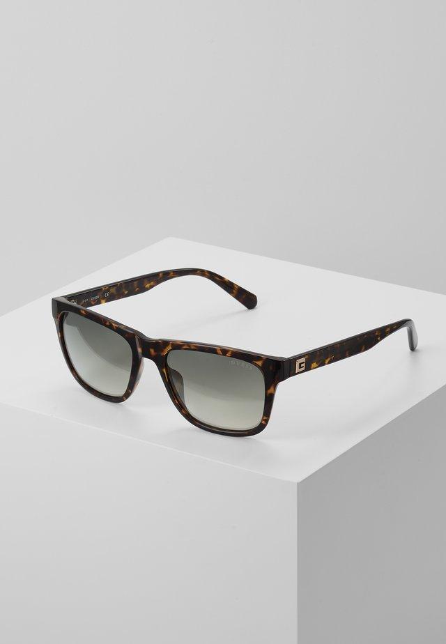 Sluneční brýle - dark havana/gradient green