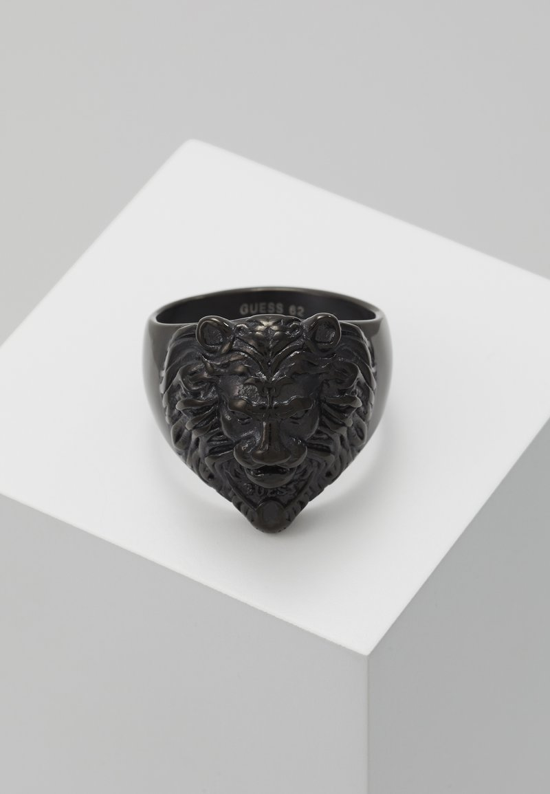 Guess - LION HEAD  - Ring - black