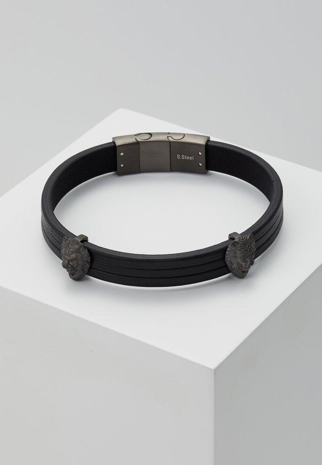 LIONS - Armband - gunmetal