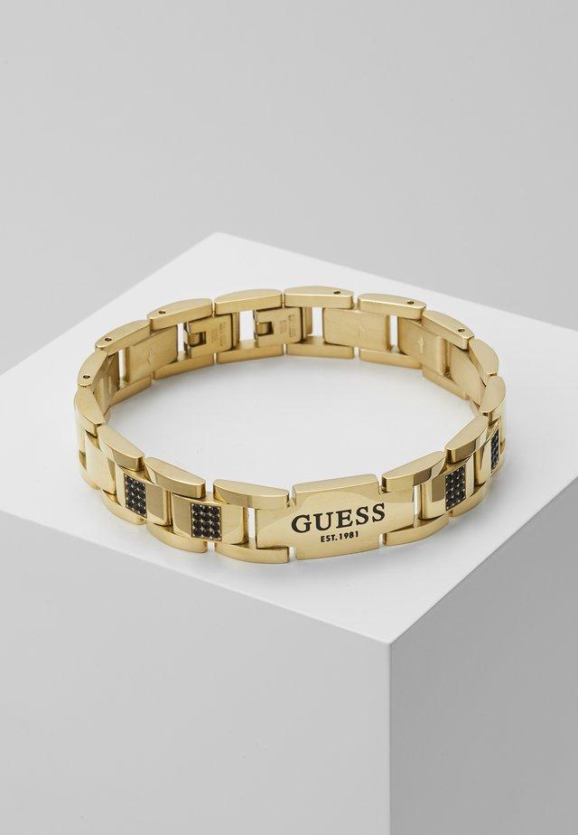 FLAT - Armband - gold-coloured/black