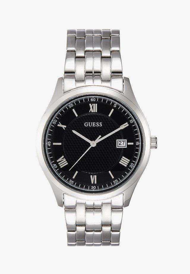 MENS DRESS - Horloge - silver-coloured/black