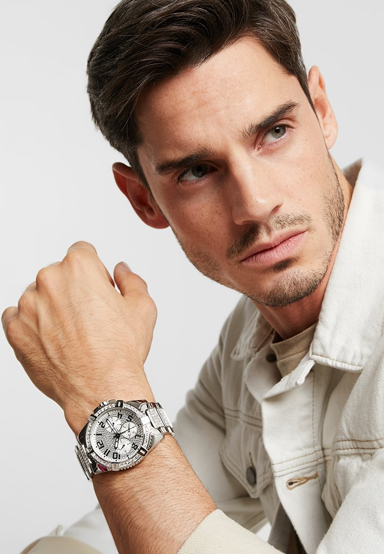 Guess - MENS SPORT - Reloj - silver-coloured