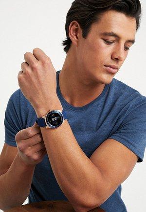 SMART WATCH - Smartwatch - blue/rosegold-coloured