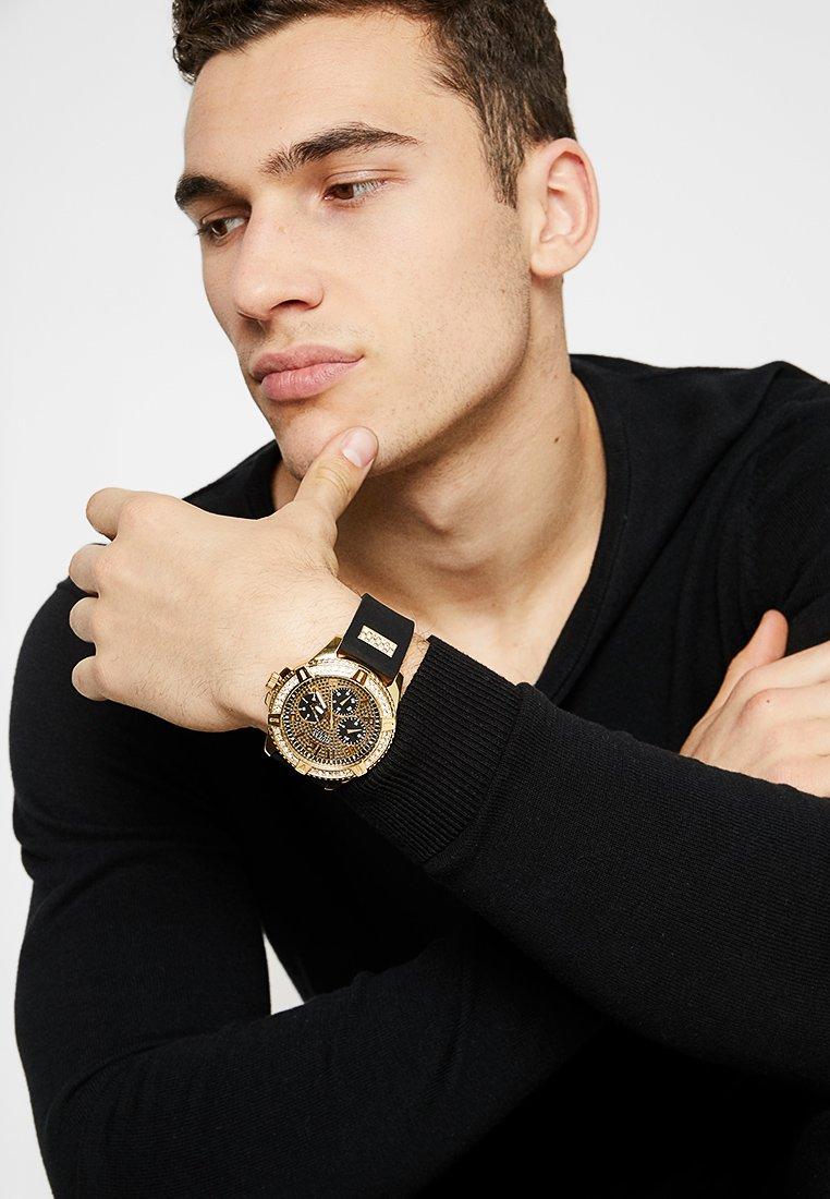 Guess - MENS SPORT - Zegarek chronograficzny - black/gold