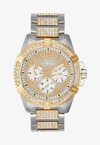 Guess - SPORT - Zegarek chronograficzny - silver-coloured/gold-coloured