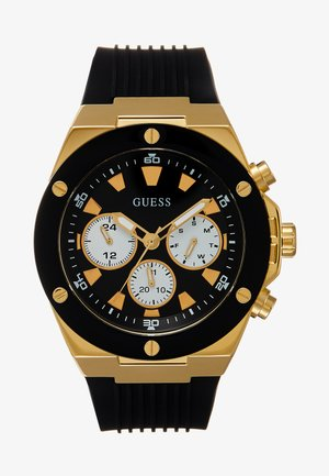 MENS SPORT  - Watch - black/gold-coloured
