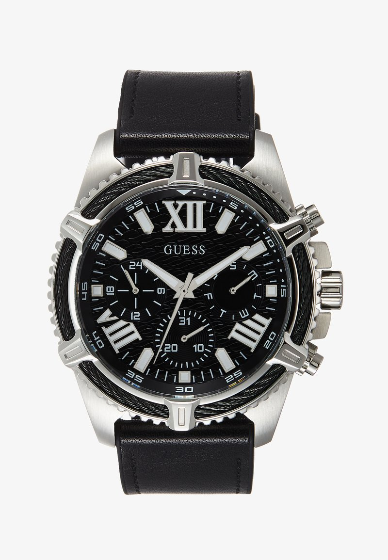 Guess - Chronograph watch - black/silver-coloured
