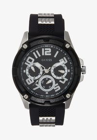 Guess - MENS SPORT MULTIFUNCTION  - Zegarek chronograficzny - black/silver-coloured - 0