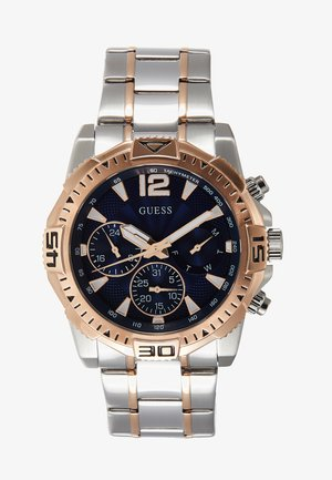 MENS SPORT - Chronograph watch - silver-coloured/rose/blue