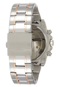 Guess - MENS SPORT - Rannekello ajanottotoiminnolla - silver-coloured/rose/blue - 1