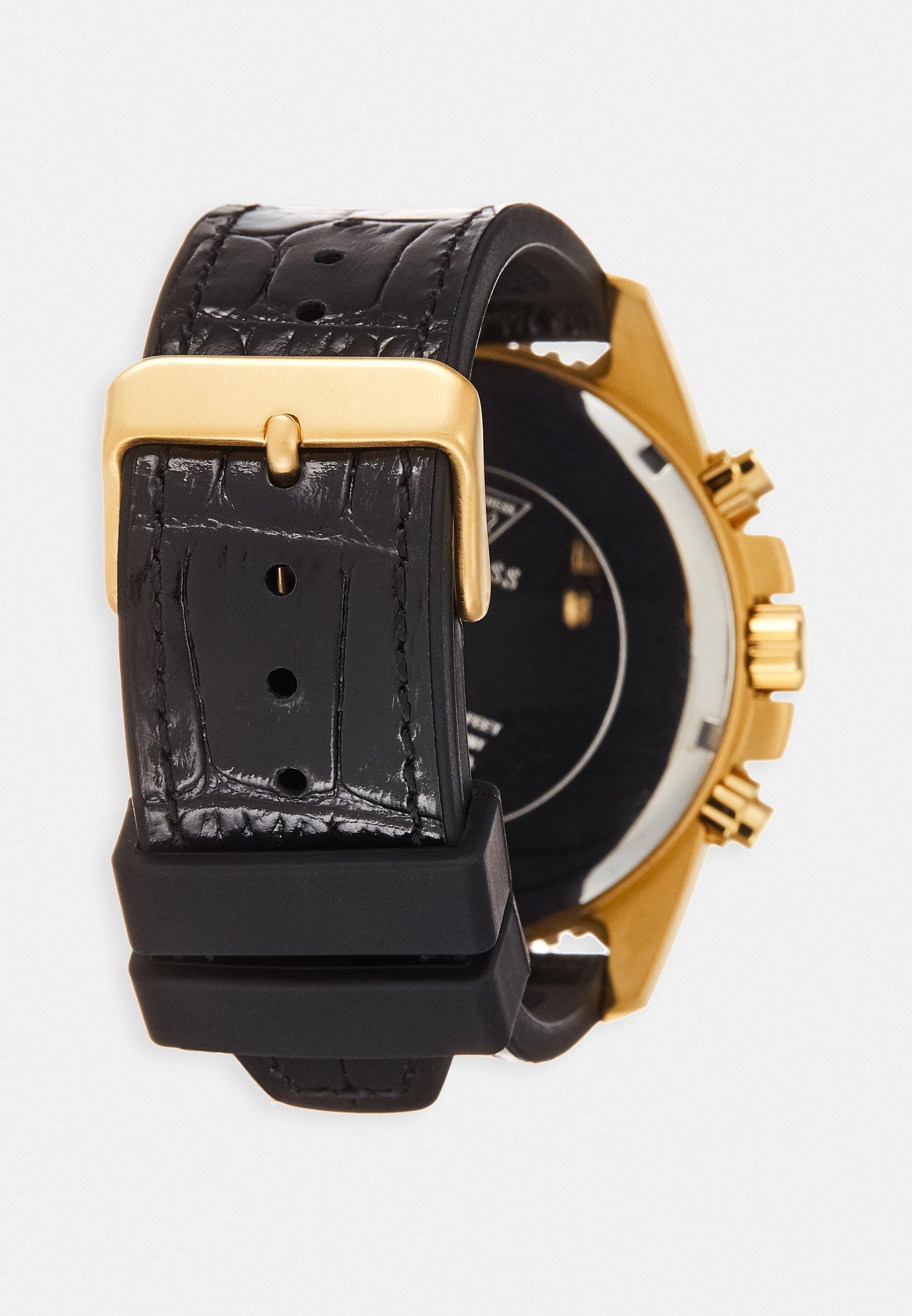 Montre à aiguilles blackgold coloured