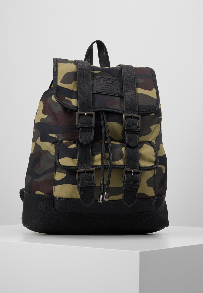 Guess - NEW PHIL BACKPACK - Batoh - olive/brown