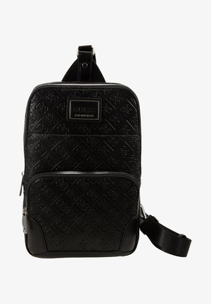 DAN LOGO CROSSOVER BACKPACK - Mochila - black