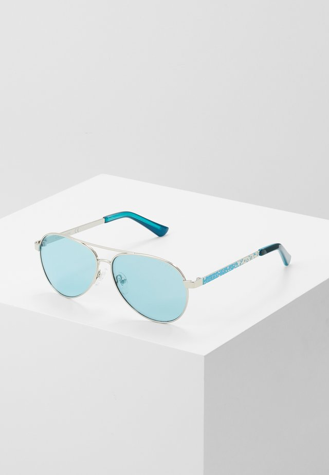 Sonnenbrille - turquoise
