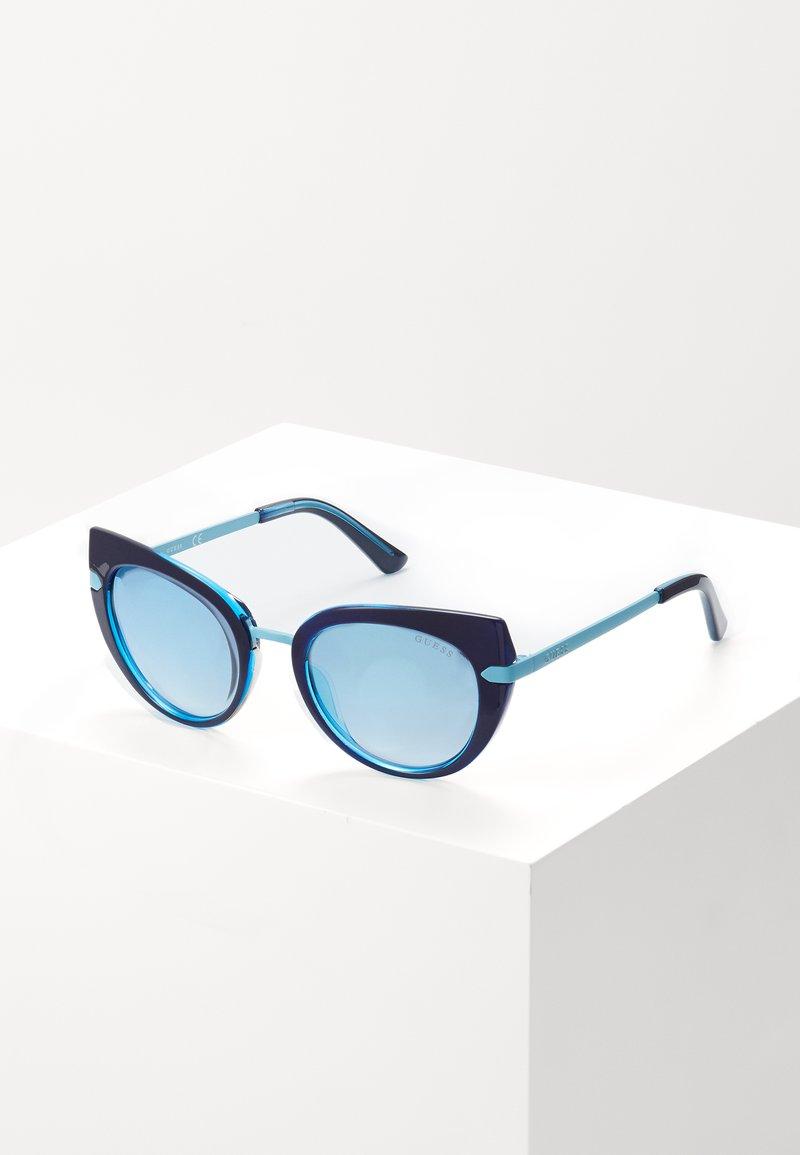Guess - INJECTED - Sunglasses - dark blue/light blue