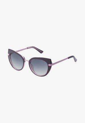 INJECTED - Sluneční brýle - black/pink